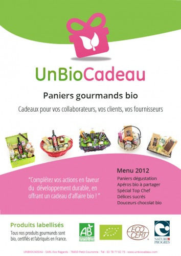 Paniers gourmands bio
