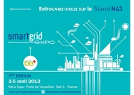EMERAUDE ENERGY AU SALON SMART GRID PARIS EXPO PORTE DE VERSAILLES