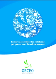 Presentation orceo environnement