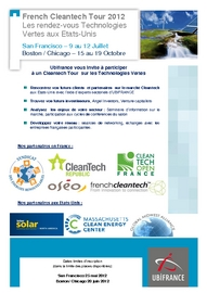 Plaquette Cleantech Tour USA 2012 - San Francisco